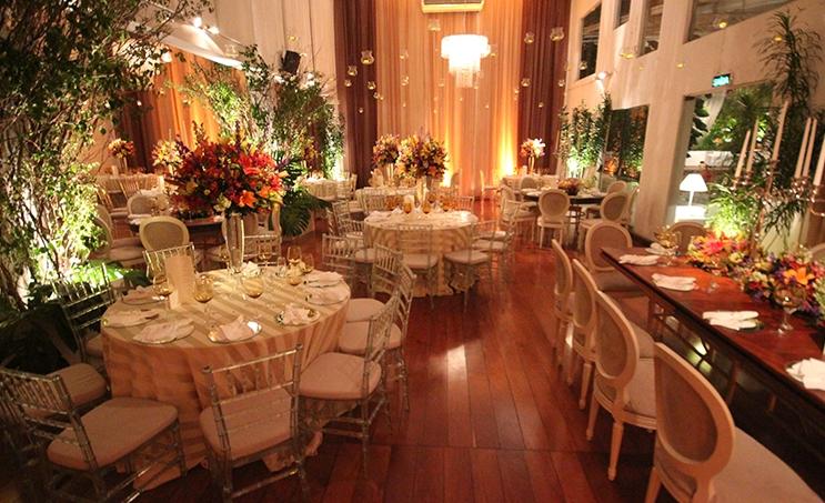 festa de casamento simples e elegantes