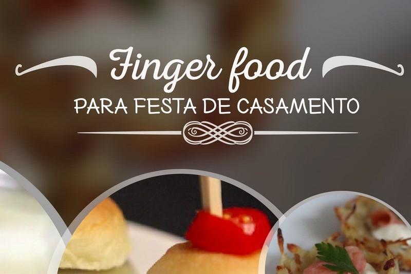 Finger Food para festa de casamento